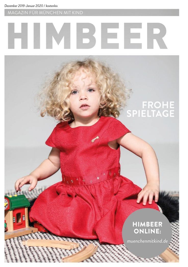 Das Münchner Familienmagazin: HIMBEER Magazin für München mit Kind Dezember 2019-Januar 2020: Frohe Spieltage // HIMBEER
