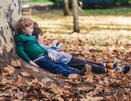 Kinder Herbst Baum // HIMBEER
