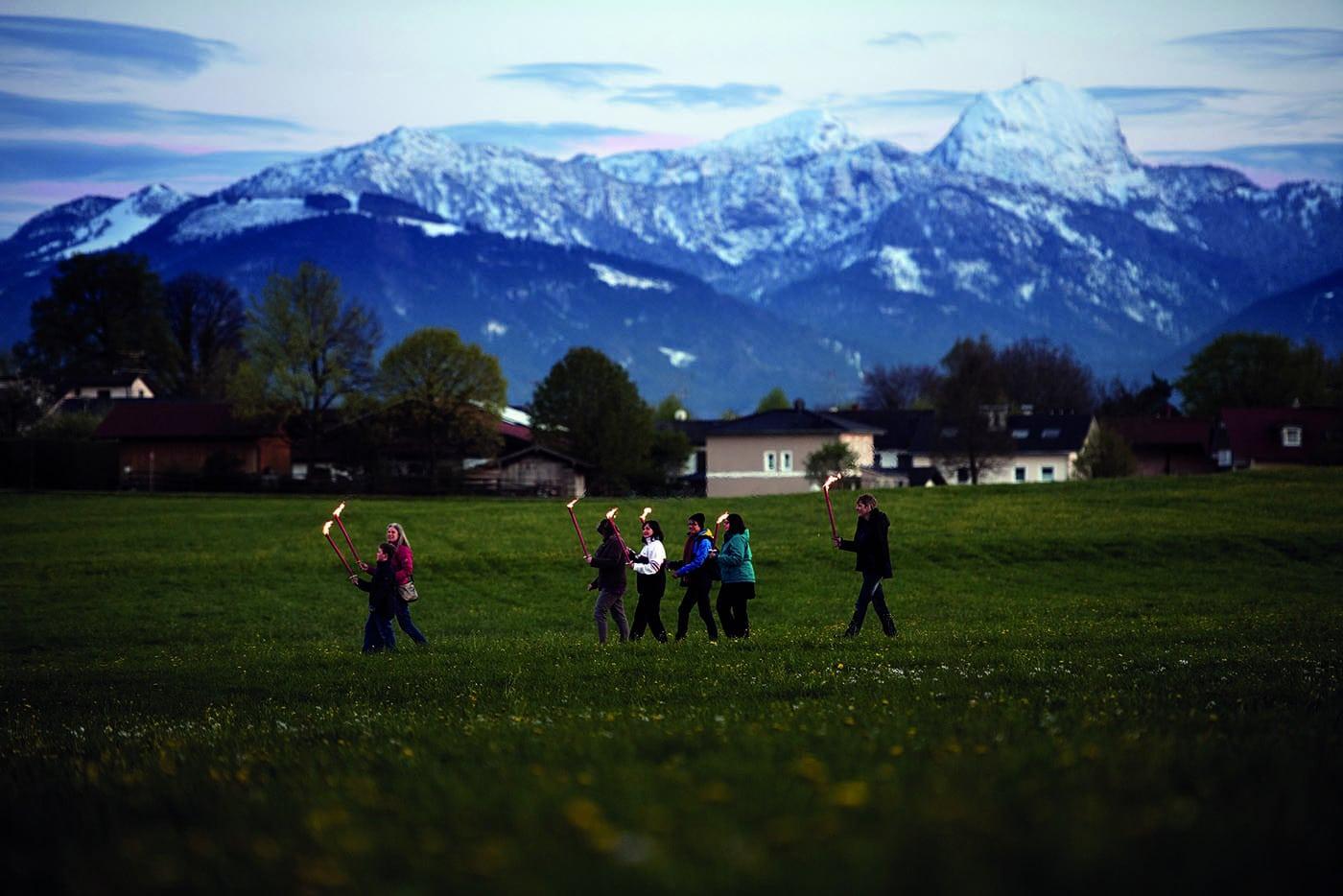 Fackelwanderung Bad Aibling // HIMBEER