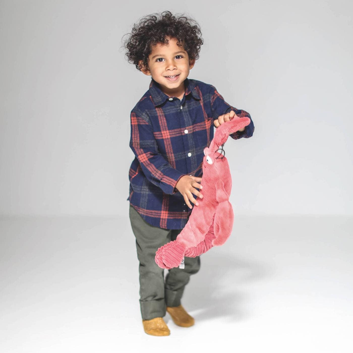 Gute Spielsachen für Kinder – schöne Kuscheltiere: Stoff-Hummer vn Jelly Cat // HIMBEER