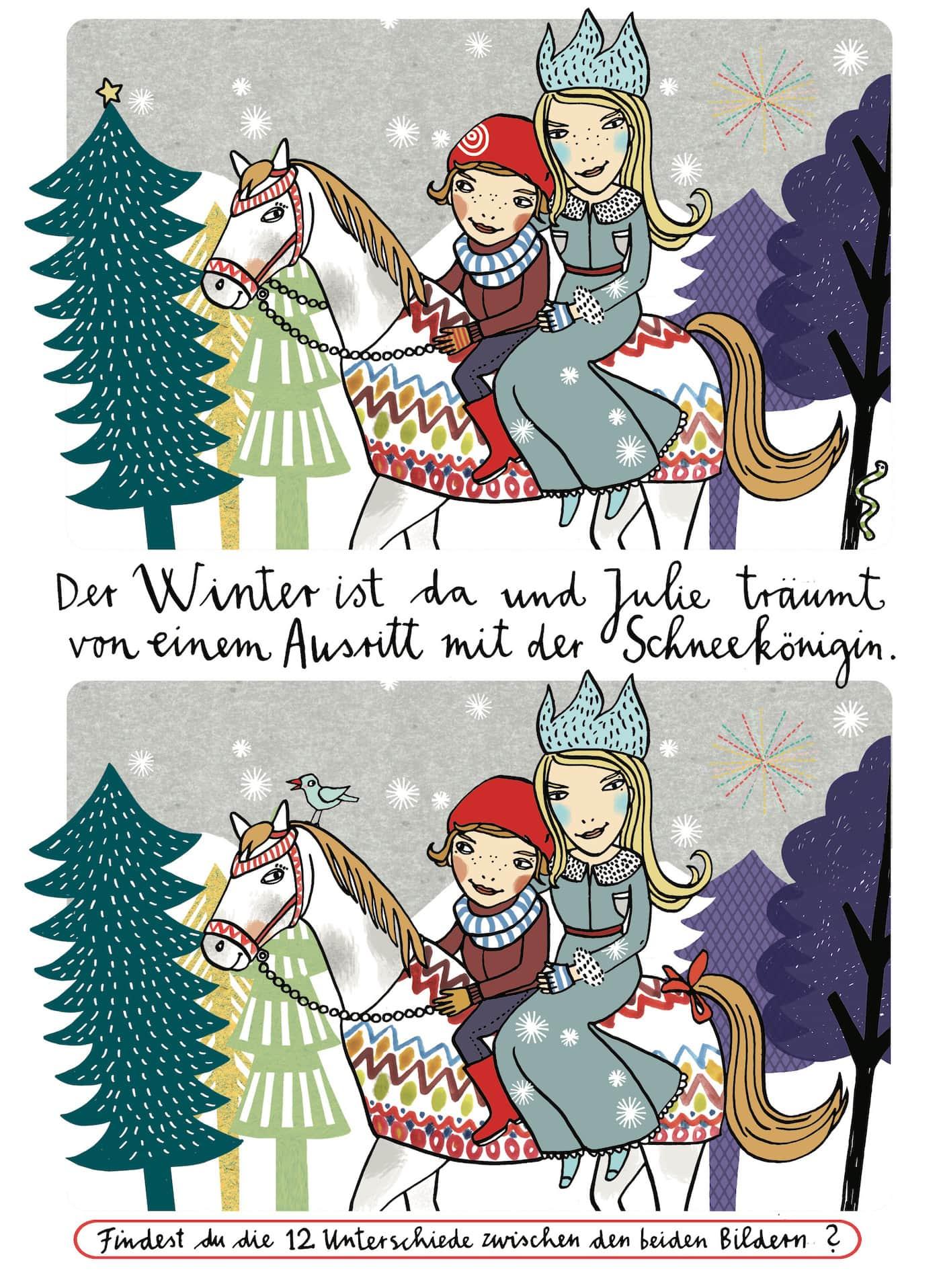 HIMBEERchen Kinderrätsel mit winterlicher Stimmung // HIMBEER