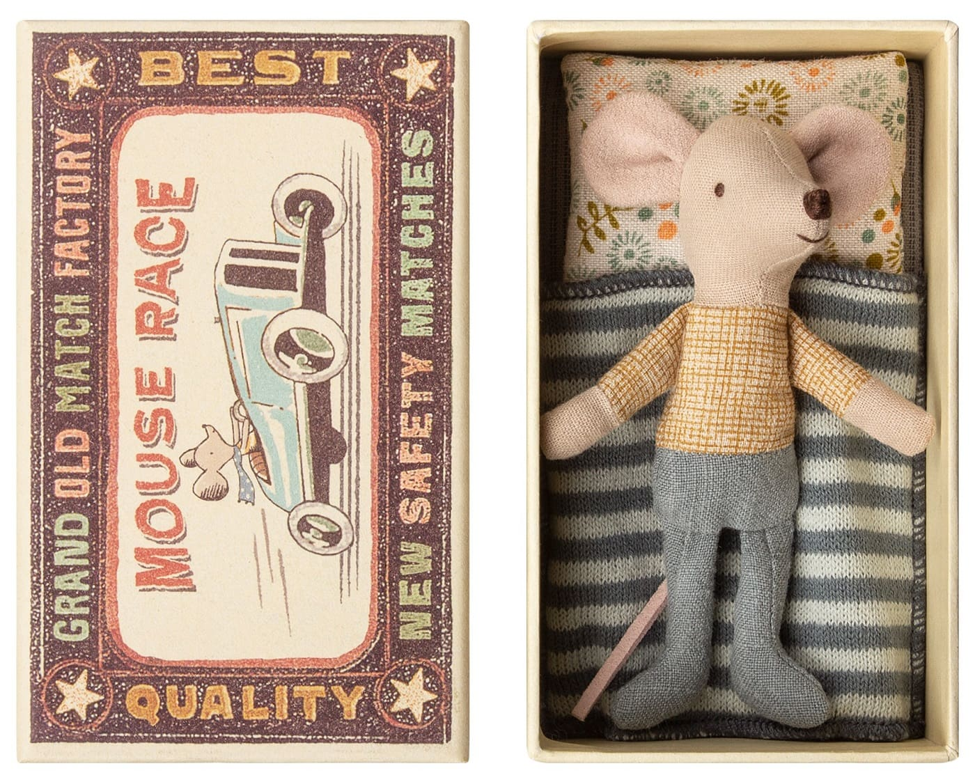 Schöne Geschenke für KinderStofftier Kleiner Mäusebruder // HIMBEER