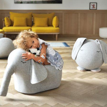 Rollelefant für Kinder – Design-Spielmöbel für Kinder – Lieblingssachen zum Einrichten und Schenken // HIMBEER