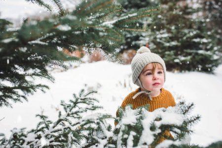 Mini-Tipps: München mit Baby im Januar 2020 – Kleinkind, Winter, Schnee, Tannen // HIMBEER