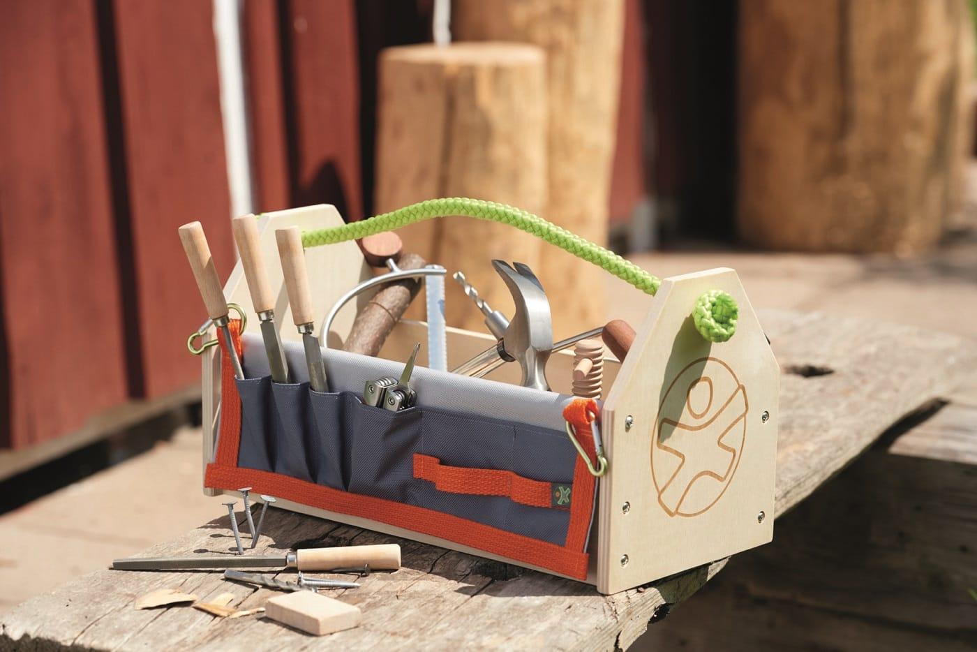 Baukasten für kleine Handwerker // HIMBEER