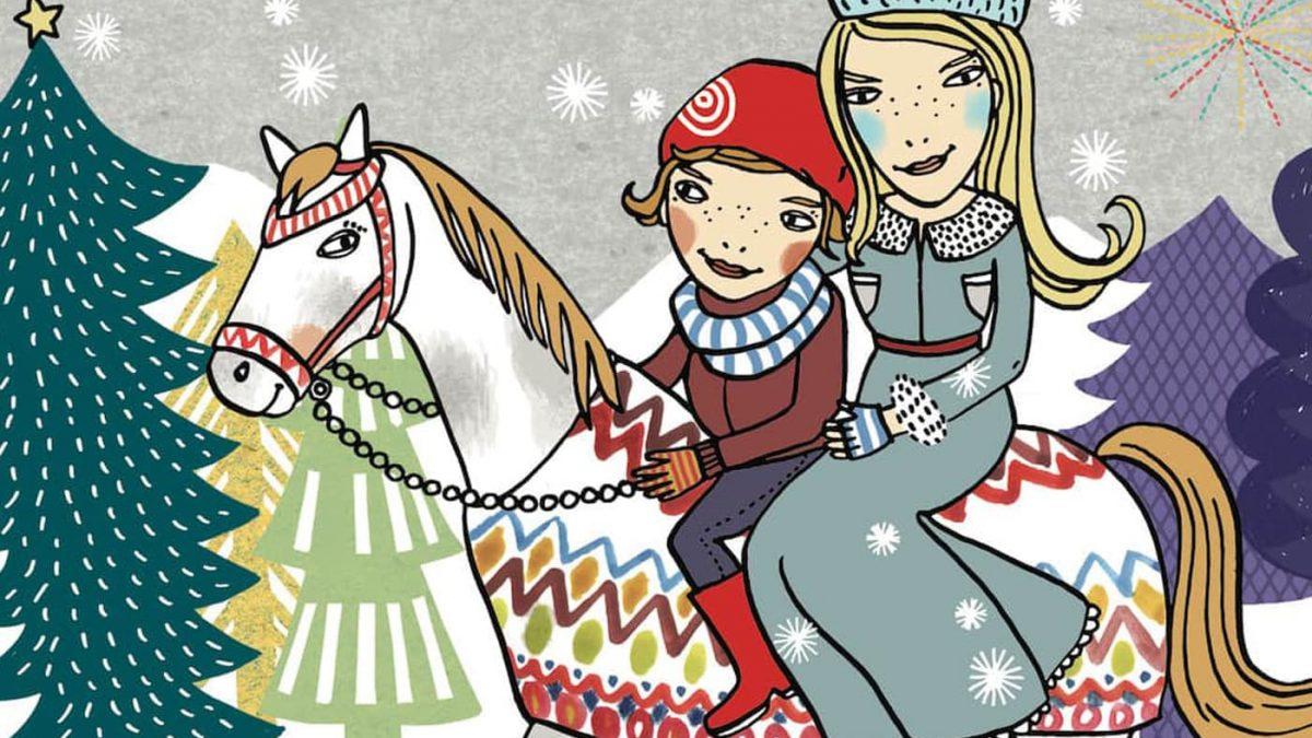 Kinderrätsel HIMBEERCHEN: Ausritt mit der Schneekönigin // HIMBEER