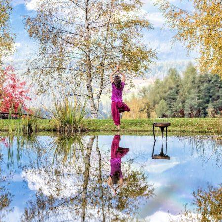 Yoga in der Natur im Hotel Saalerwirt – Urlaubsziel für Familien // HIMBEER