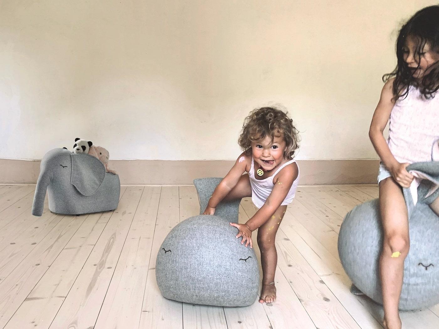 Roll-Elefant für Kinder // HIMBEER
