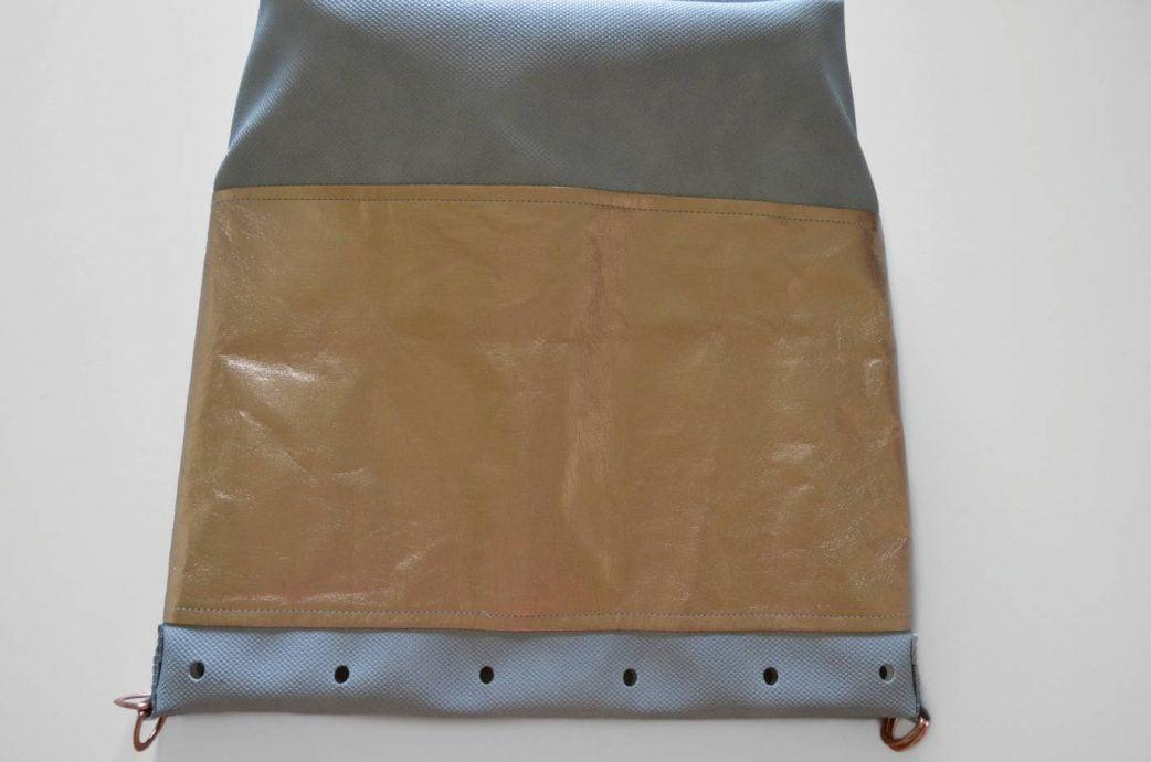Bucket Bag im Metallic Look: Schritt 13 // HIMBEER