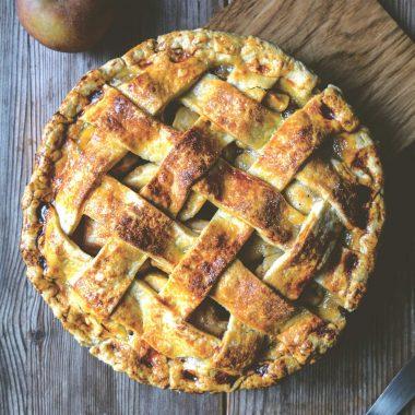 Esskastanien-Apfel-Pie // HIMBEER