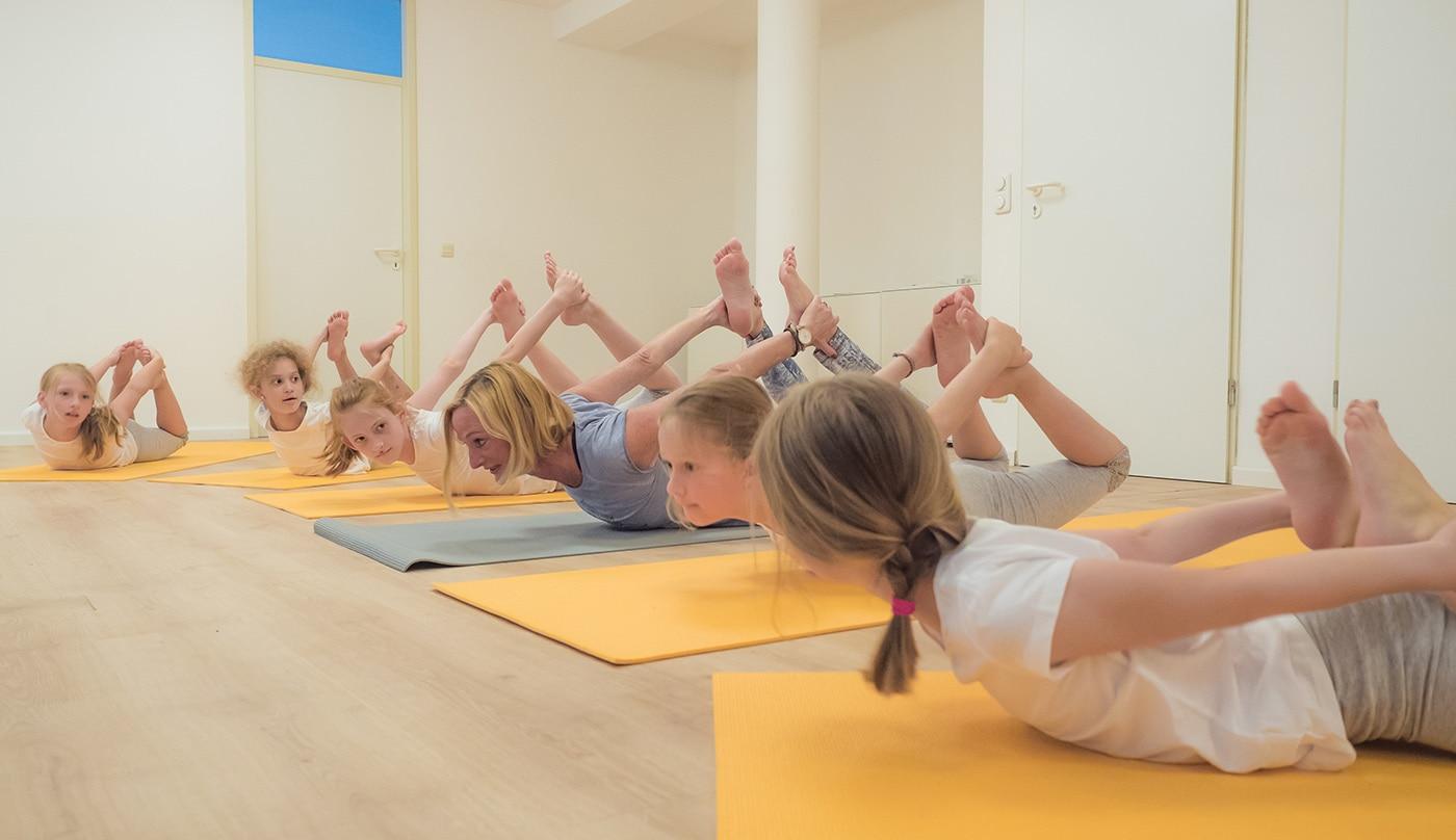 Yoga mit Kids // HIMBEER