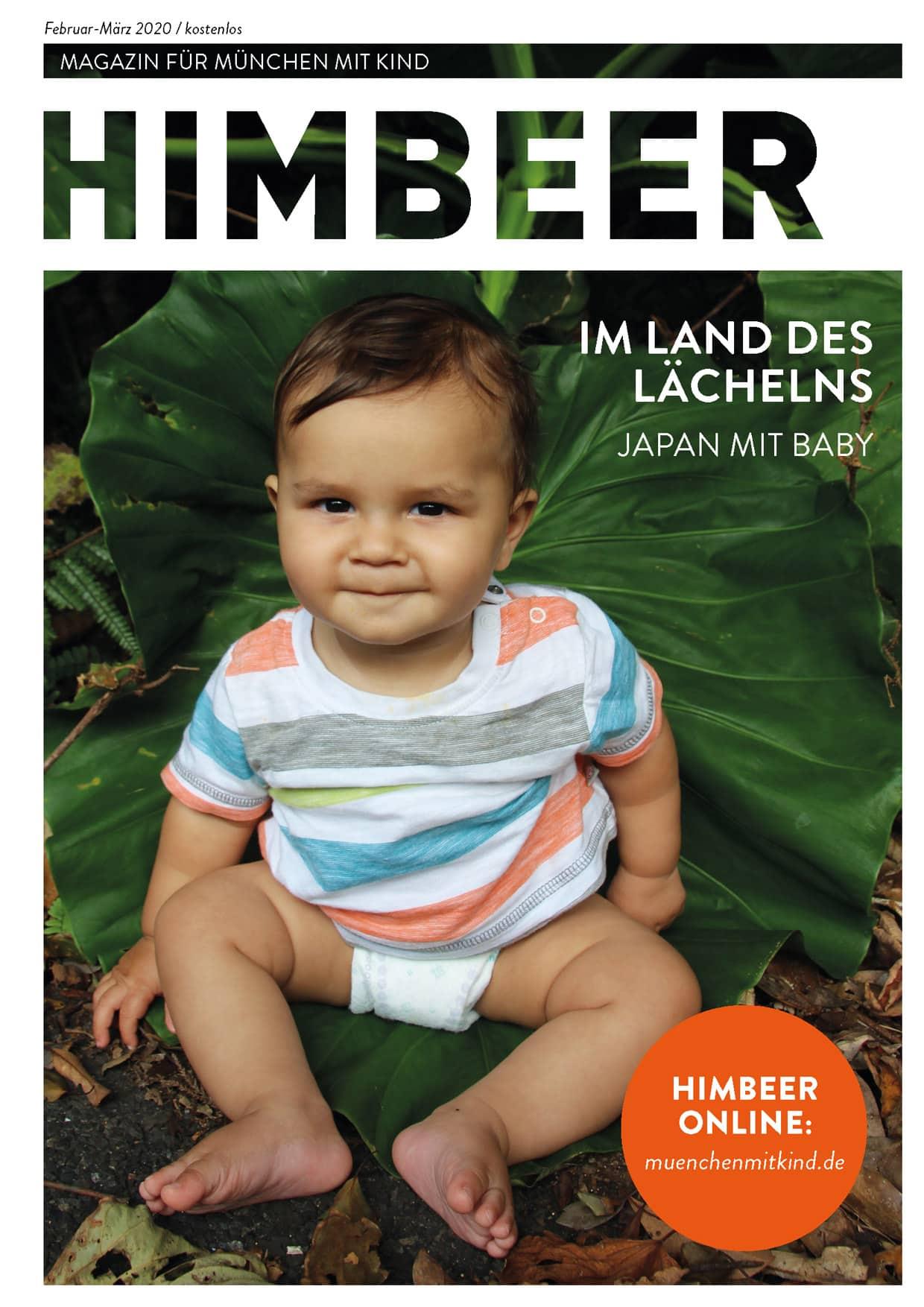 Familienmagazin HIMBEER München mit Kind Februar März 2020 // HIMBEER