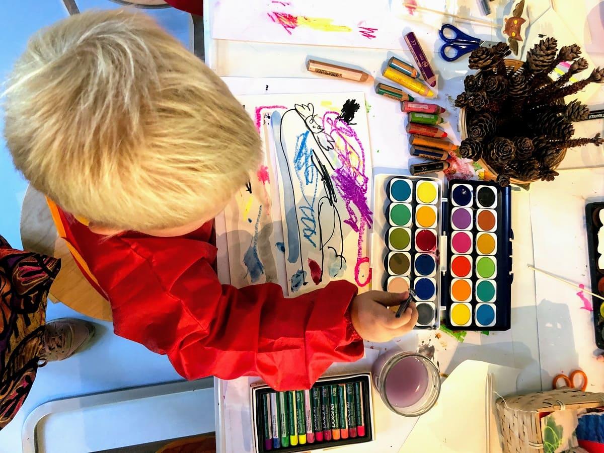 Mini-Tipps: littleART Kunst für kleine Kinder // HIMBEER