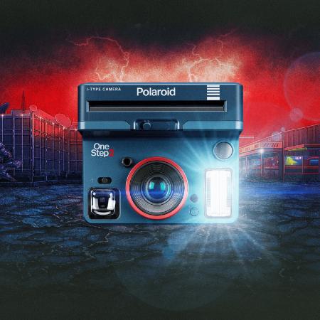 Polaroid Kamera - Stranger Things Edition // HIMBEER
