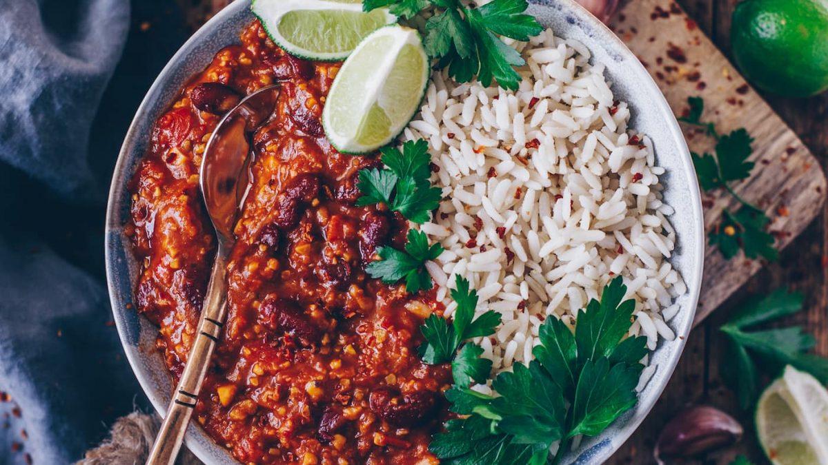 Köstliche Chilli sin Carne für Familien // HIMBEER