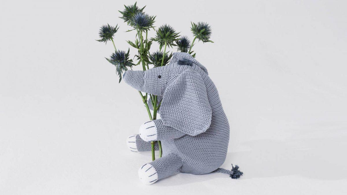 Einen niedlichen Elefanten häkeln – Häkelanleitung // HIMBEER
