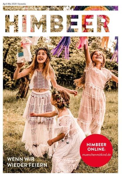 HIMBEER Magazin für München mit Kind April-Mai 2020 // HIMBEER