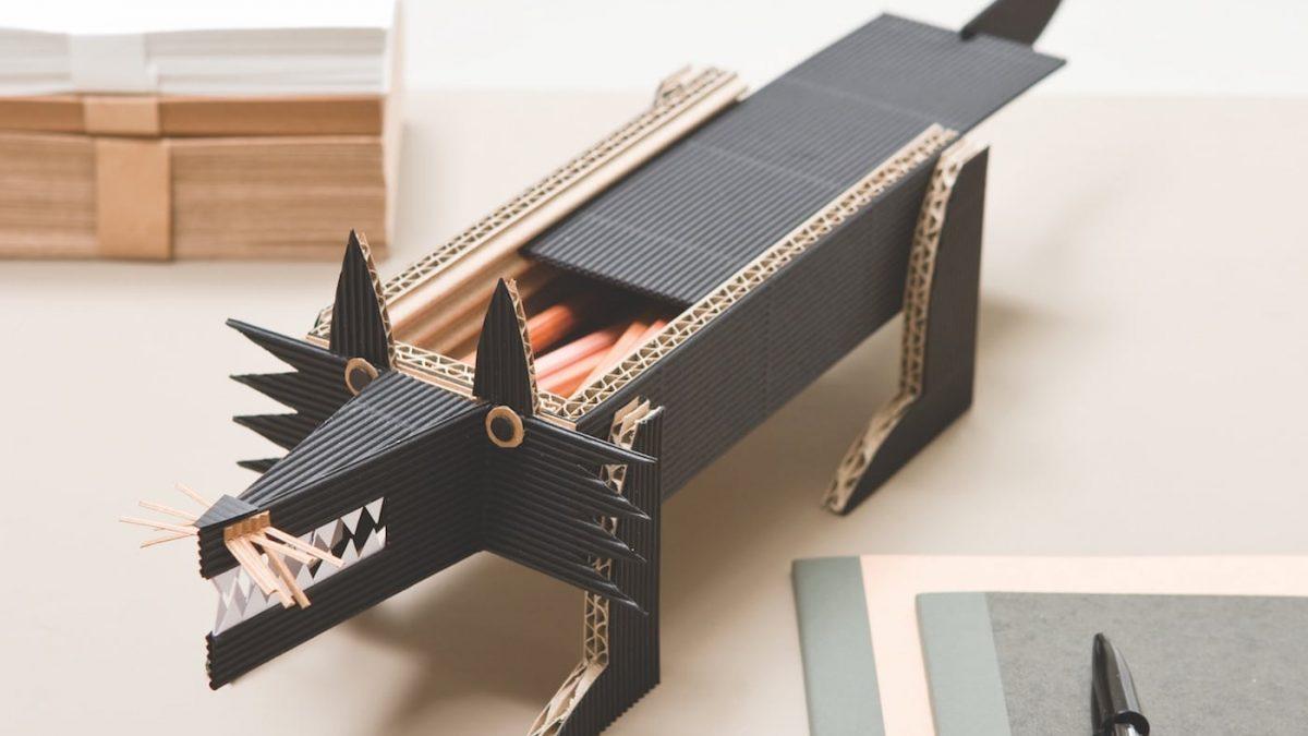 DIY: Stiftehalter für den Schreibtisch // HIMBEER