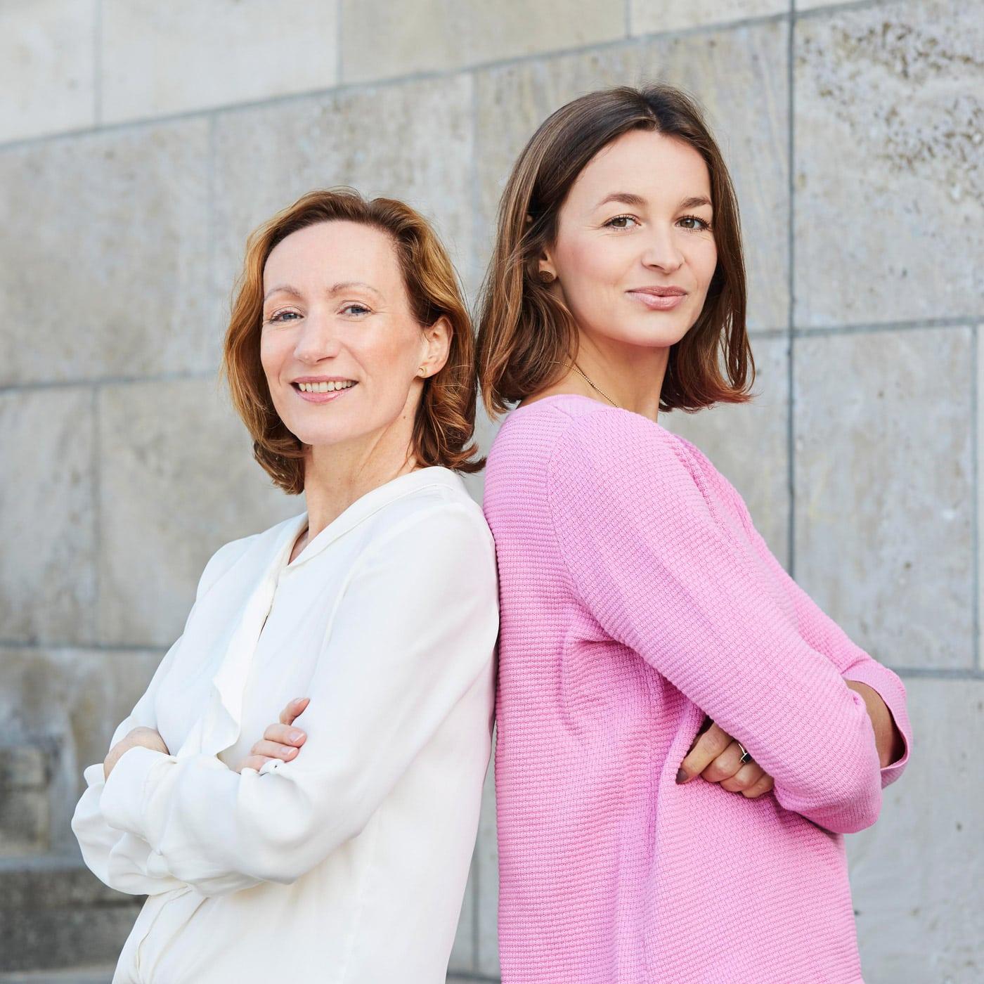 Keleya-Gründerinnen Sarah Müggenburg und Victoria Engelhardt // HIMBEER
