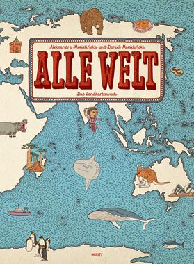 """Kindersachbuch-Tipp: Kinderatlas """"Alle Welt"""" // HIMBEER"""