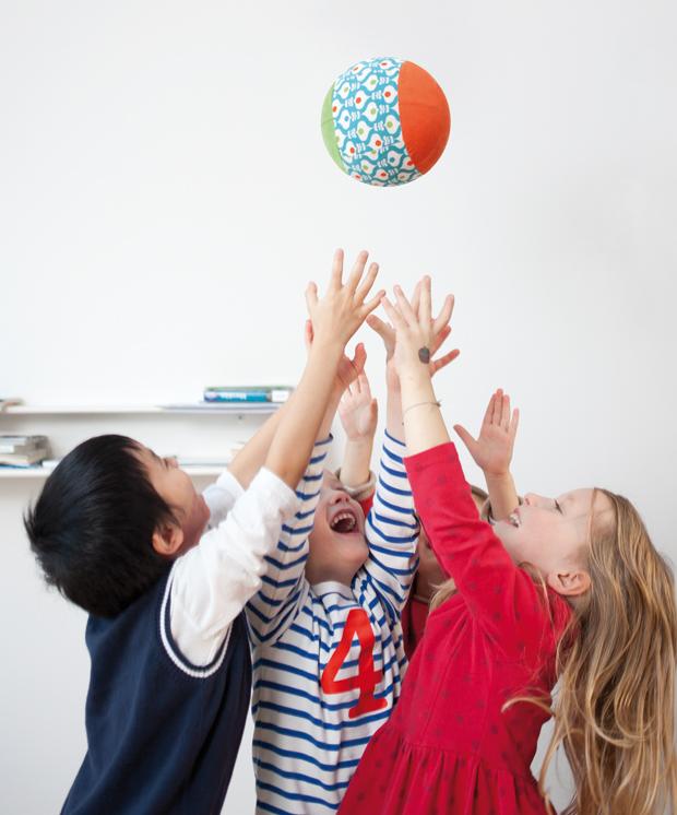 Pop-Up-Ball selber nähen – DIY-Anleitungen für Kindersachen // HIMBEER