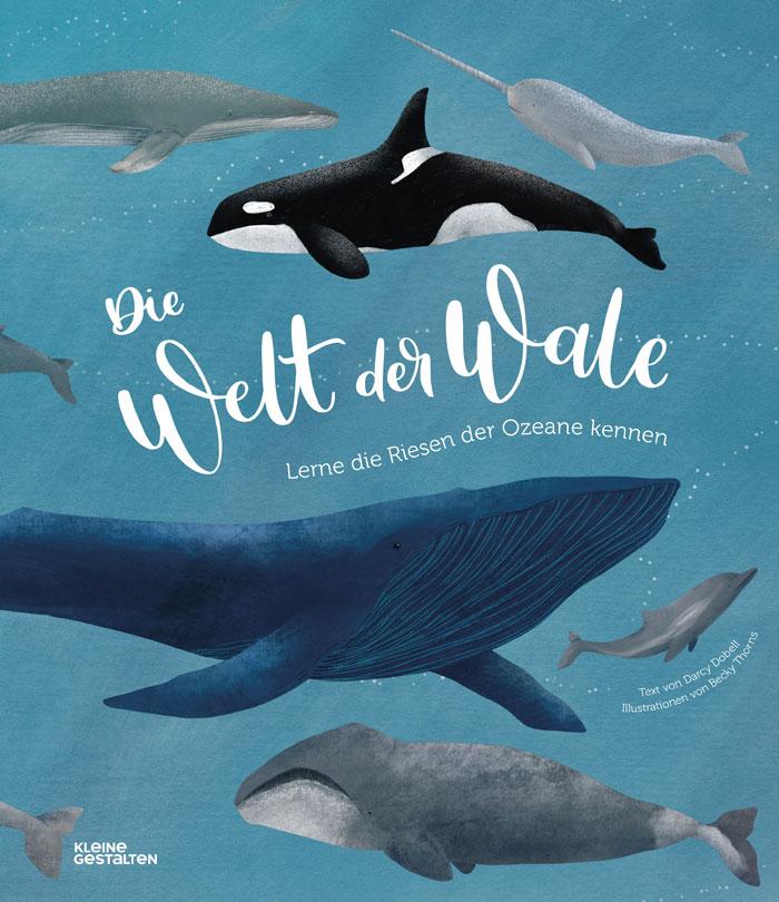 Andere Welt erlesen: Kinderbuch-Tipp: Die Welt der Wale. Kindersachbuch // HIMBEER