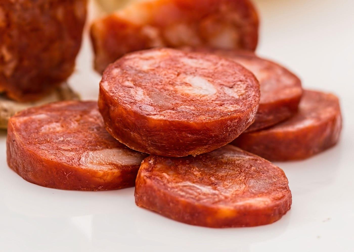 Rzept Chorizo-Käse-Pitataschen // HIMBEER