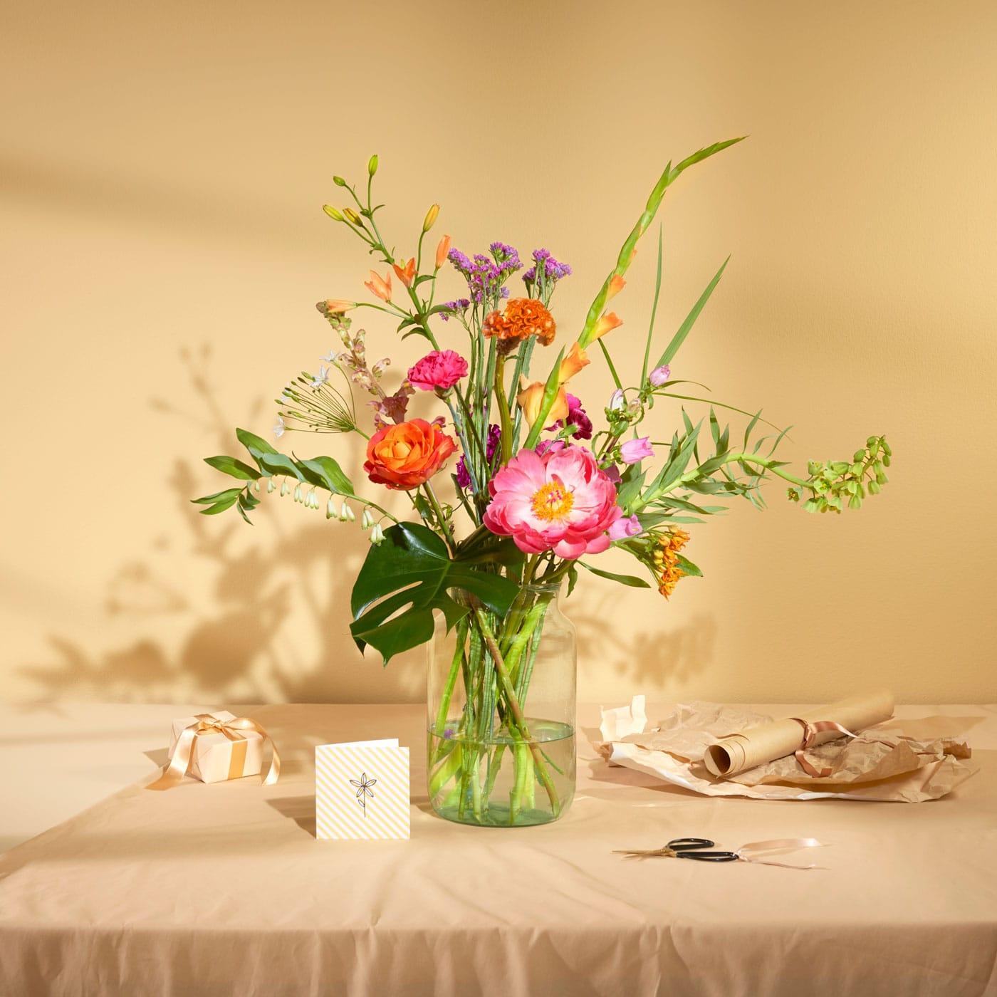 Geschenk zum Vatertag: Blumen-Bouquet // HIMBEER