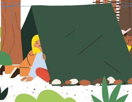 Buchtipp für Kinder: Raus an die frische Luft – viele tolle Ideen für draußen // HIMBEER