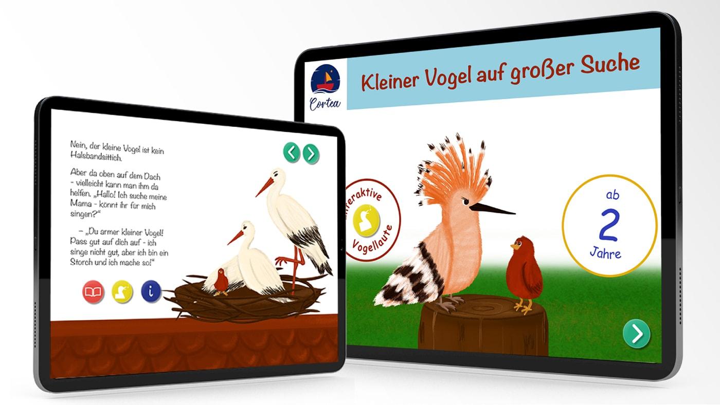 Gewinnspiel: Interaktive Kinderbücher von Cortea // HIMBEER