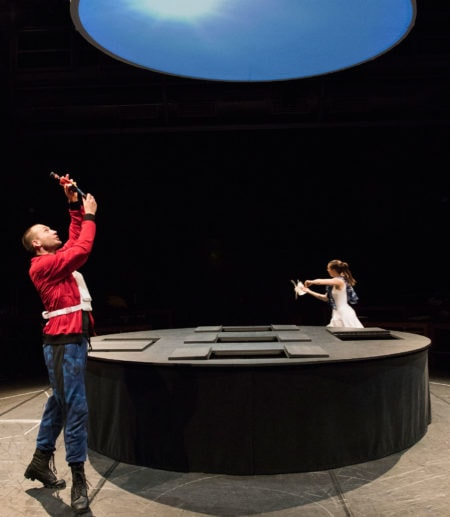 Kindertheater in München: Der Zinnsoldat und die Papiertänzerin // HIMBEER