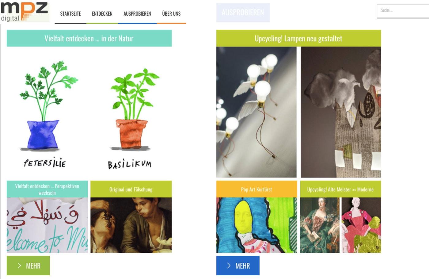 MPZ digital: Entdecken und Ausprobieren // HIMBEER