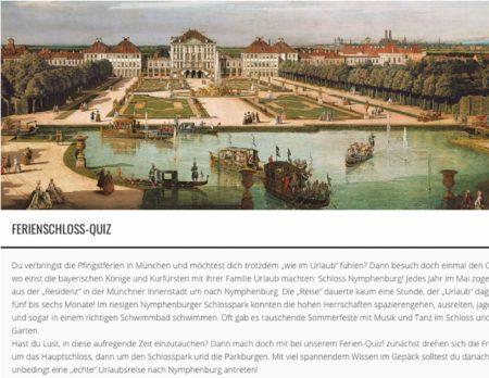 MPZ digital: Ferienquiz Schlösser // HIMBEER