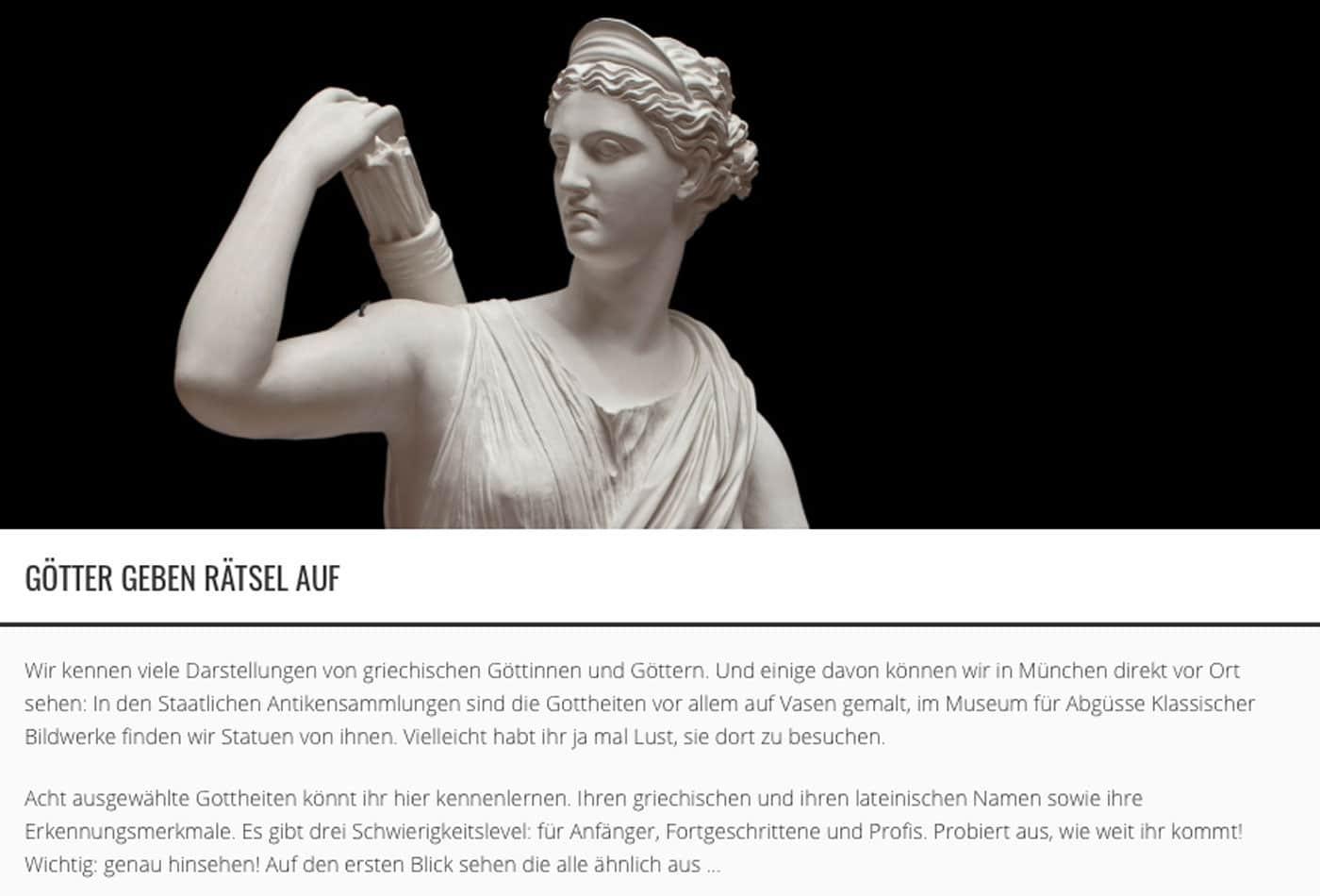 Digitale Angebote der Münchner Museen für Kinder // HIMBEER