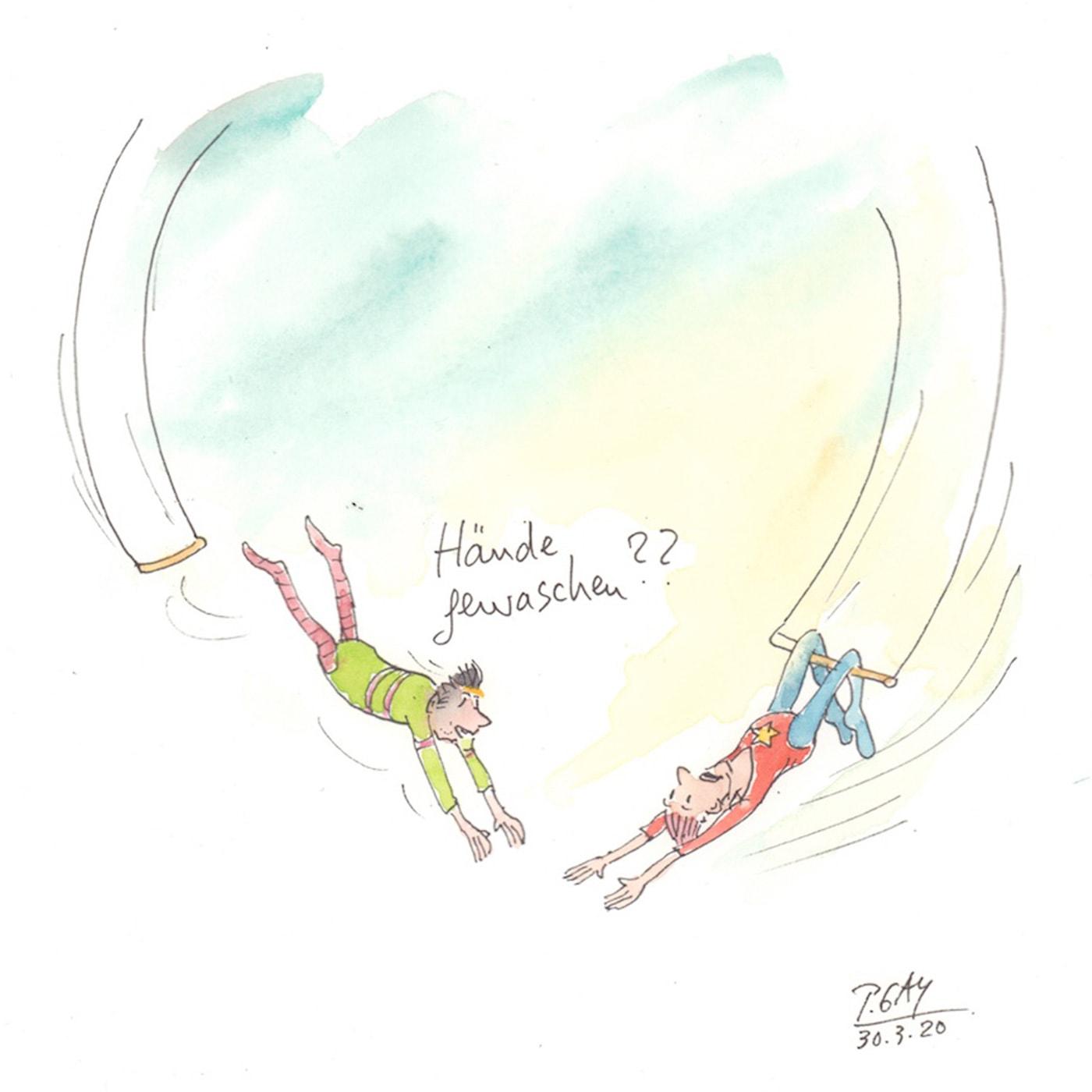 Tipps für das erste Augustwochenende: Signierstunde mit Peter Gaymann // HIMBEER