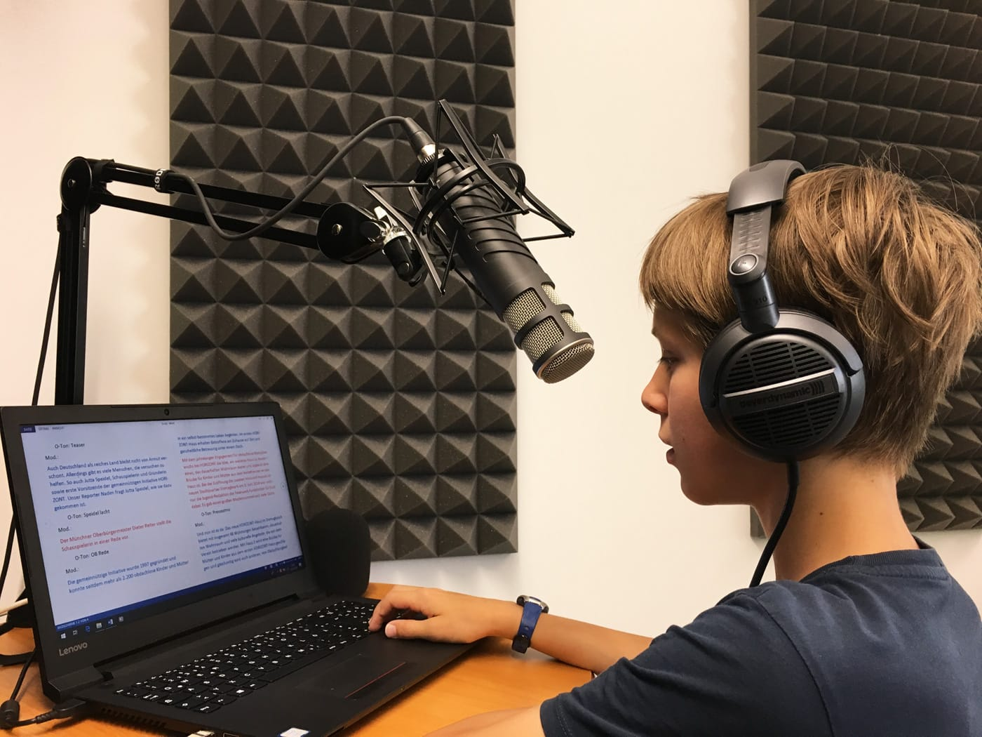Für Kinder in München: Radio-Workshop für Kinder in den Sommerferien // HIMBEER