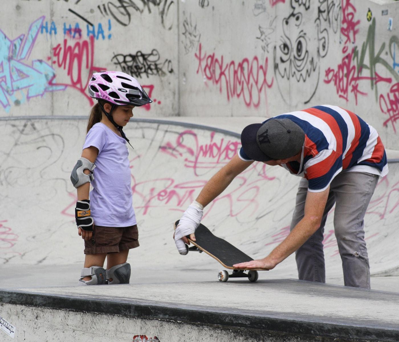 Ferienprogramm im Feierwerk Dschungelpalast: Skate-Kurse für Kinder // HIMBEER