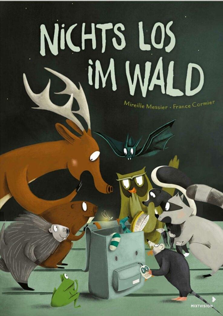 Kinderbuch über den Wald: Nichts los im Wald // HIMBEER