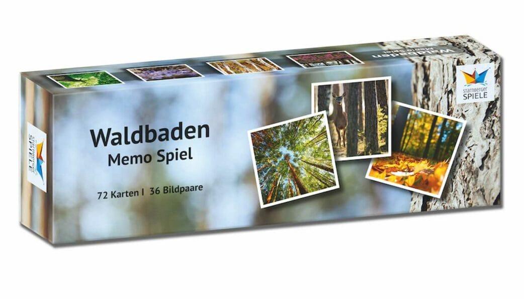Waldbaden – Memospiel mit Waldbildern // HIMBEER