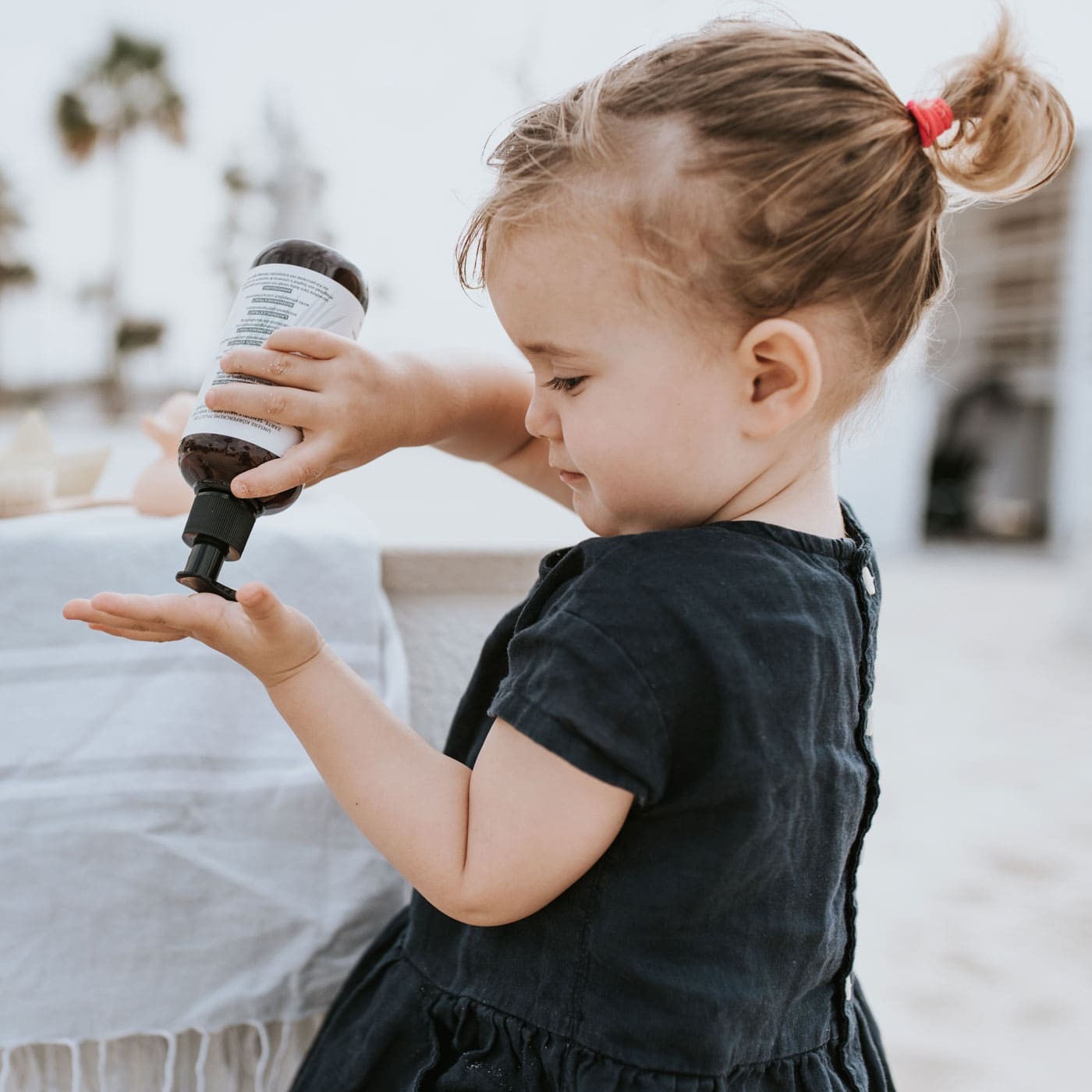 Baby- und Kinderpflegeproduktlinie // HIMBEER