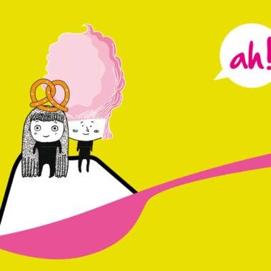 Erzähl-Kochkunst-Kindertheater für Kinder in München: Frau Süß und Frau Salzig von Altenbach + Honsel // HIMBEER