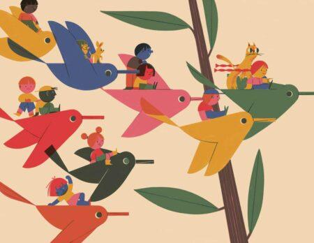 Kinderbuch-Tipp: Du und ich und alle anderen vo Marcos Farina // HIMBEER