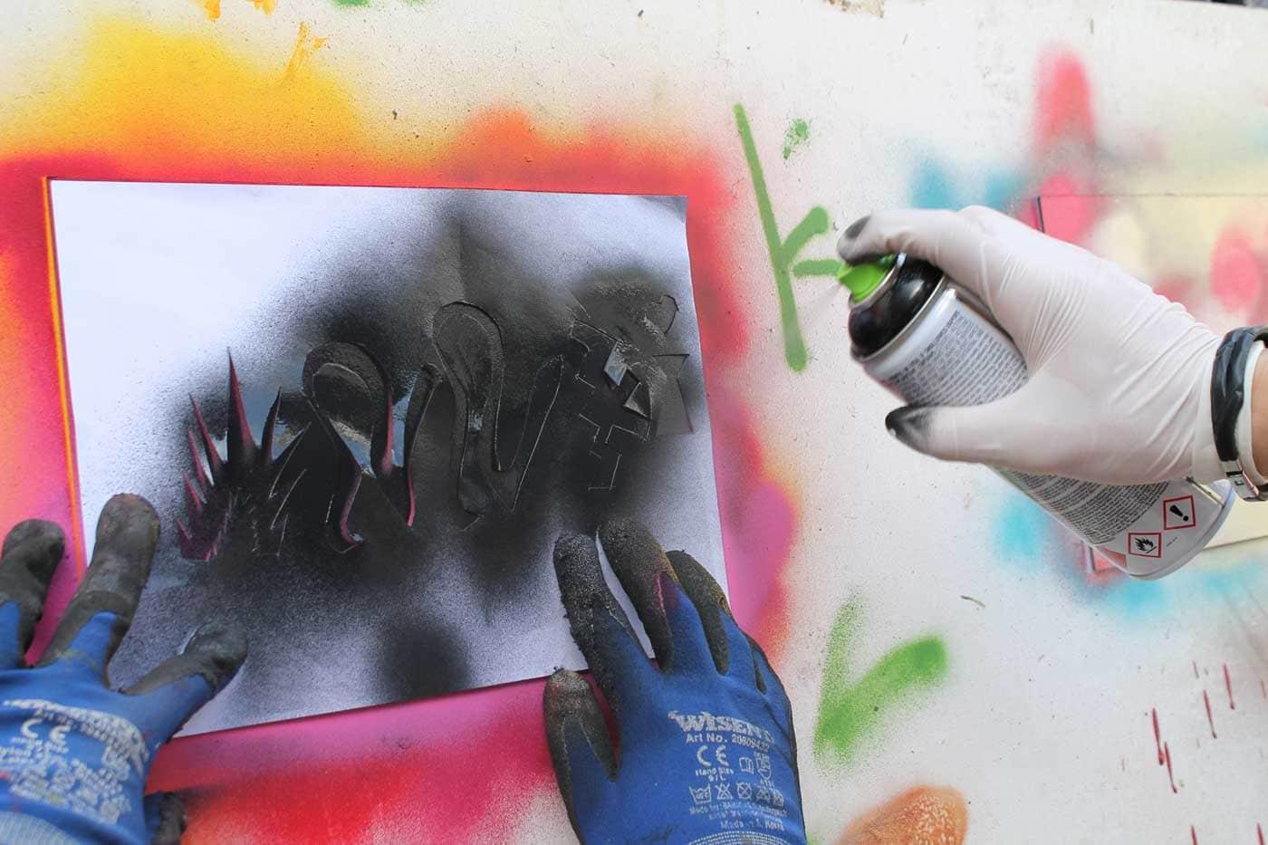 Tipps für München mit Kindern und Teenagern: MUC Graffiti-Workshops // HIMBEER