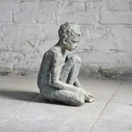 ARTMUC Oktober 2020: Zeitgenössische Kunst: Valerie Otte Skulptur Finn // HIMBEER