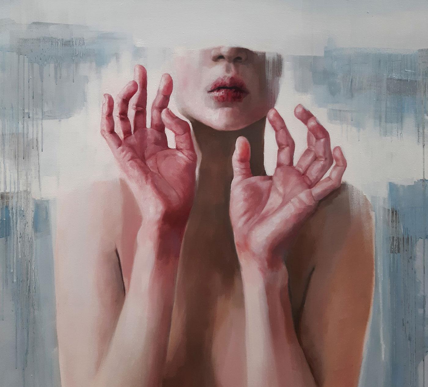 ARTMUC Oktober 2020: Zeitgenössische Kunst: Sontheim, Ohne Titel// HIMBEER