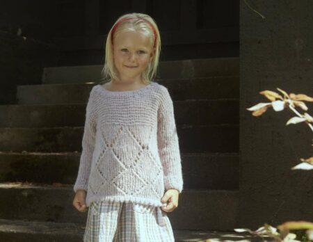 Kinderpullover für die Herbstzeit stricken // HIMBEER