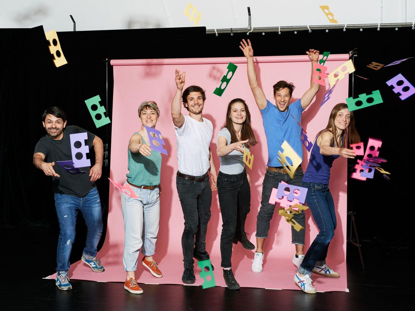StarterLABs der Schauburg – Gutes Kindertheater in München: Das Schauburg Ensemble // HIMBEER