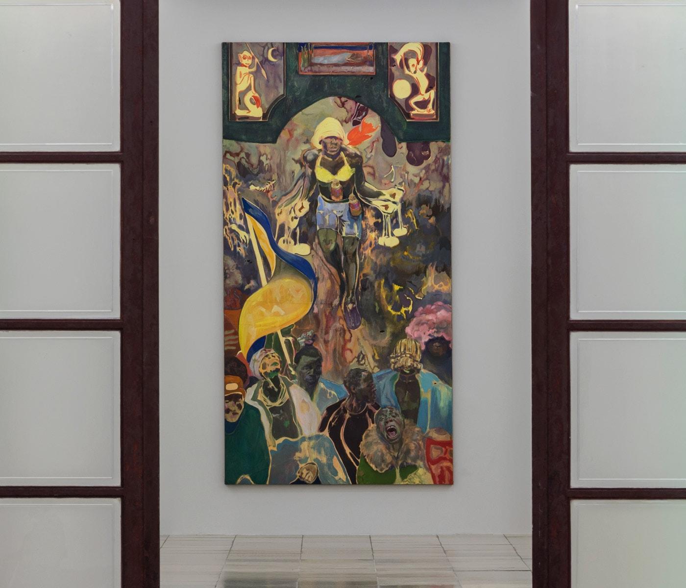 Kunstführung mit Baby im Oktober in München: Michael Armitage im Haus der Kunst // HIMBEER