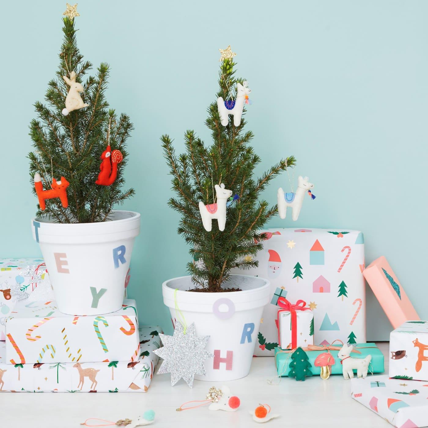 Nikolaus-Geschenke für Kinder: Hübscher Baumschmuck Tiere // HIMBEER