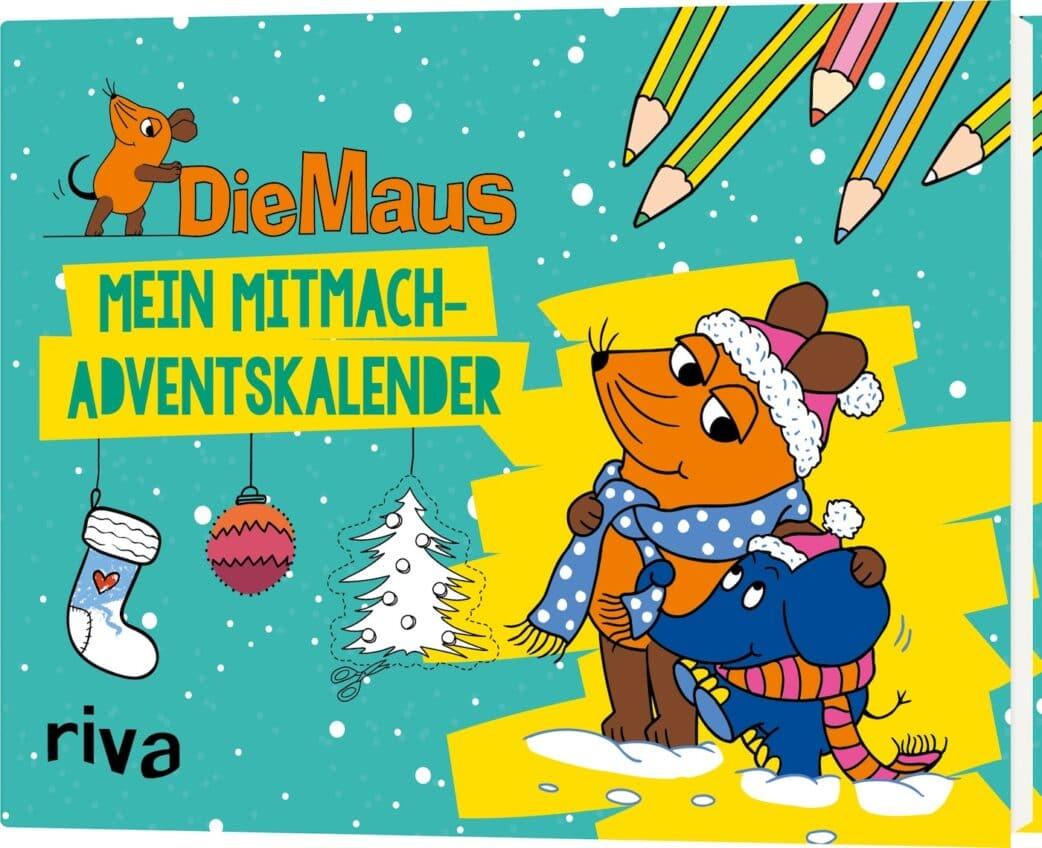 Die schönsten Adventskalender 2020: Die Maus – Mitmach-Adventskalender // HIMBEER